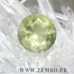verre lybique taille ETOILE DE FRANCE 7.41 carats