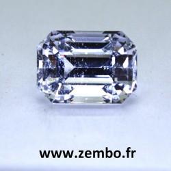 quartz taille emeraude 17.49 carats
