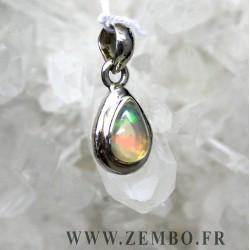 pendentif opale ethiopie cabochon