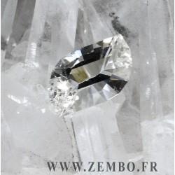 cristal de roche quartz la gardette taille vague 2.27 carats