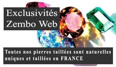Toutes nos pierres taillées sont naturelles , uniques et taillées en FRANCE